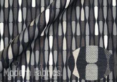 Luna Textiles Propeller PPR-5158 : Newsprint
