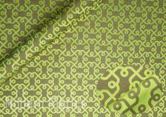 Luna Textiles Plaza SPZ 3025 : Kelp / Tea Leaf (Reversible)