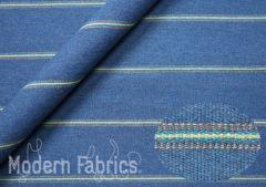Designtex Berber Stripe 3268 401 : Blue Corn