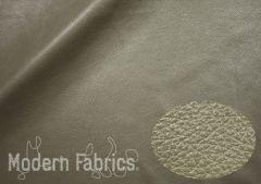 Crate & Barrel Leather Soft Grain : Cement