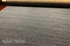Designtex Lambert: Paynes Grey | Mid Century Wool Upholstery & Pillow Fabric