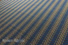 Geiger Textiles Foothills: Cobalt Stripe | Upholstery & Pillow Fabric