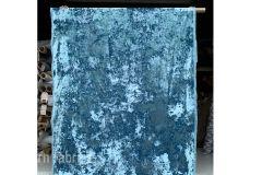 Opuzen Crushed Velvet Aqua