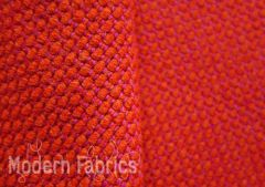 HBF Textiles Double Stitch: Tomate | Chunky Wool Upholstery Pillow Fabric