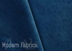 J.B. Martin Velvet: Navy Blue | Upholstery and Pillow Fabric