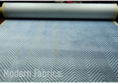 Kravet Zigandzag: Indigo by Sarah Richardson| Cut Velvet Upholstery Pillow Fabric
