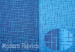 Luna Textiles Hatch Too IHT-2934 : Peacock (Reversible)