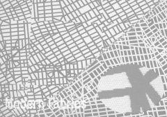 Luna Textiles Urban Grid UCU-2510R : Canal (REVERSABLE)
