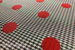 Maharam Dots by Paul Smith: Pitaya | Upholstery & Pillow Fabric