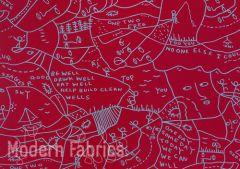 HBF Textiles Twist 927 56 : Green + Blue