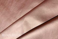 Romo Kirkby Textiles Laser Metallic: Rose Gold