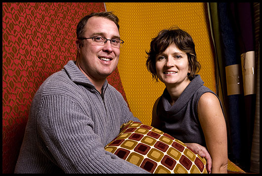 James & Ewa Powell, Founders of Modern Fabrics