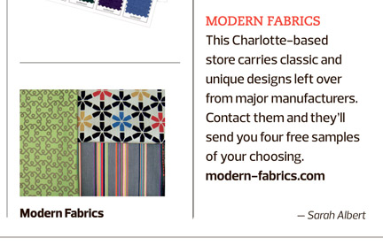 Modern Fabrics in USA Today
