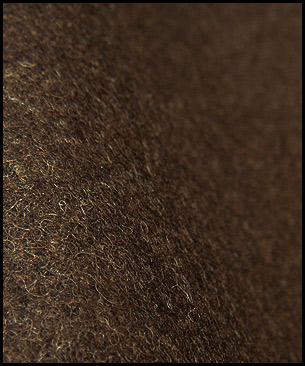 Maharam Divina Melange by Kvadrat 280 (dark chocolate)