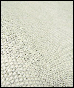 Maharam Hallingdal by Kvadrat 110 (white and gray)
