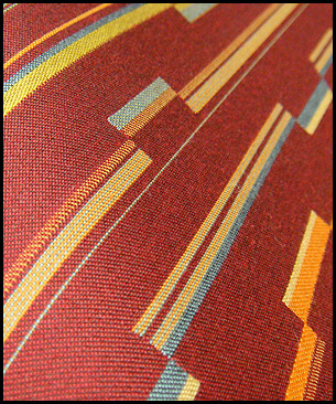 Designtex Razor Stripe Winesap
