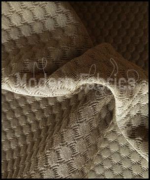 Luna textiles micro bubbly ncm 4044 mushroom organic - Luna textil ...