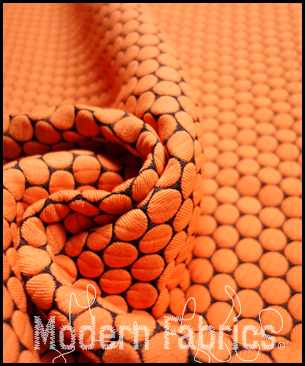 Designtex Loop to Loop 3467-701 : Orange Crush