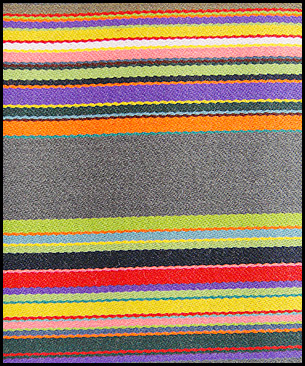 Maharam Stripes by Paul Smith : Syncopated Stripe
