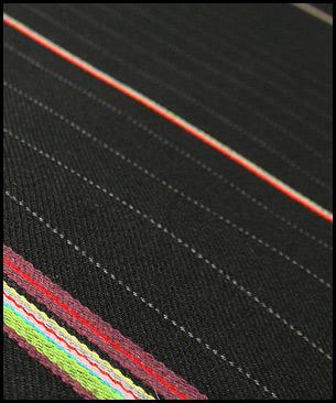 Maharam Bespoke Stripe by Paul Smith :  Black