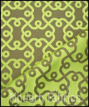 Luna textiles plaza spz 3025 kelp tea leaf reversible - Luna textil ...