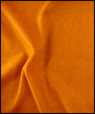 Maharam Divina Melange by Kvadrat 521 (orange)