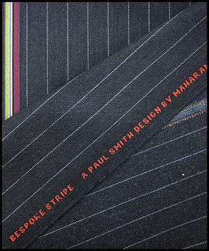 Maharam Bespoke Stripe by Paul Smith Charcoal