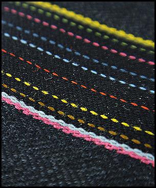 Maharam Herringbone Stripe by Paul Smith Graphite