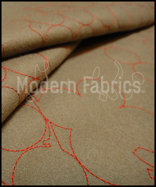 Maharam Layers Vineyards Taupe/Crimson