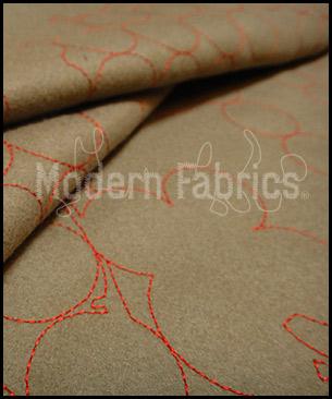 Maharam Layers Vineyards Taupe/Crimson