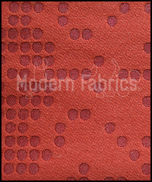 Luna Textiles Dots Damask KDD-5056 : Rosewood