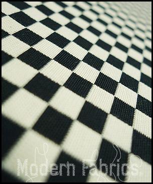 Maharam by Alexander Girard Checker 459830 008 : Black/White