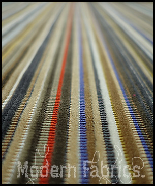 Maharam Epingle Stripe by Paul Smith 466007 001 : Caramel