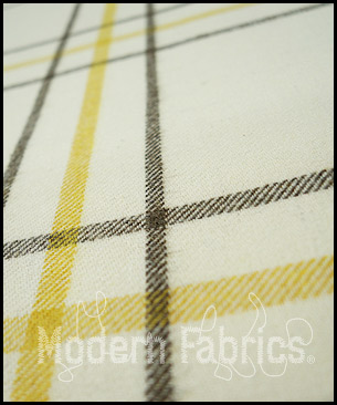 Ethan Allen Big Classic Wool Check : Yellow