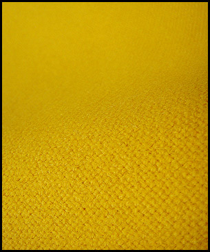 Maharam Tonus by Kvadrat 440 (yellow)