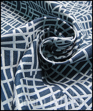 Luna Textiles Urban Grid UCU-2512 : Walker (REVERSABLE)
