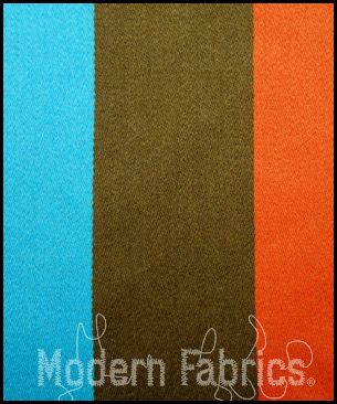 Maharam Big Stripe by Paul Smith 466174 001 : Peacock