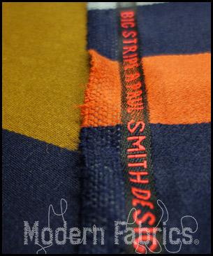Maharam Big Stripe by Paul Smith 466174 003 : Umber