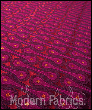 Maharam Design 9297 006 : Magenta by Josef Hoffmann