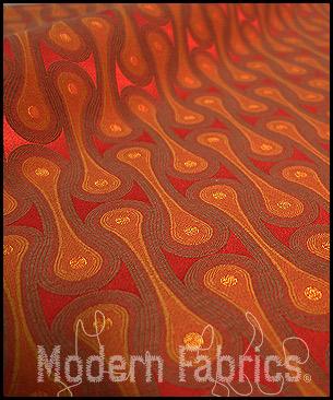 Maharam Design 9297 005 : Scarlet by Josef Hoffmann