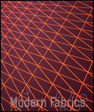 Maharam Bright Angle Tangerine