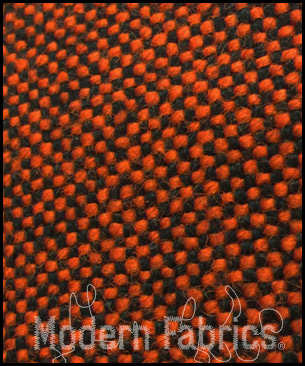 Maharam Hallingdal by Kvadrat 460760 : 596 (Black/Red)