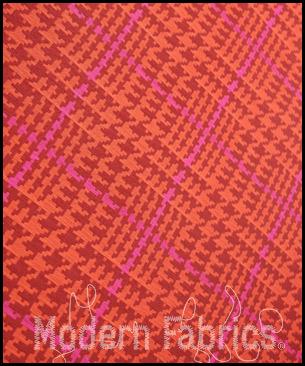 Maharam Houndstooth by Paul Smith 466253 004 : Peony