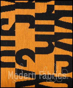 Maharam Letters 462560 001 : Sun by Gunnar Aagaard Andersen, 1955