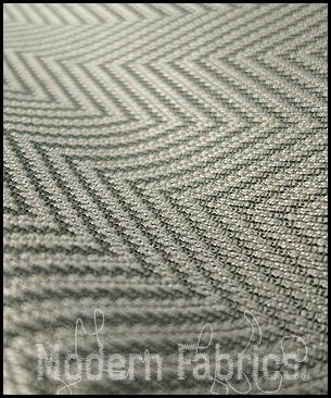 Romo / Kirk by Design Metro Chevron K5002 09 : Aluminium